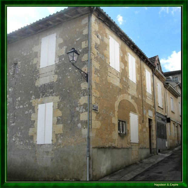 Marshal Lannes'house of birth in Lectoure