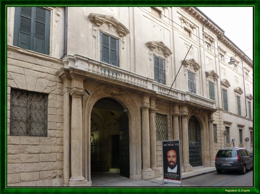 Napoléon Bonaparte headquarter in Verona