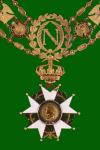 The Légion d'honneur medal