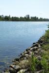 Le Danube près d'Essling
