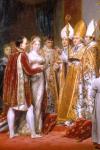 Mariage avec Marie-Louise (détail du tableau de Georges Rouget)
