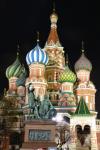 La Cathédrale Saint-Basile-le-Bienheureux à Moscou