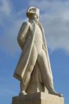 Statue de Napoléon sur le plateau de Craonne