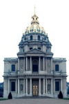 Dome of Les Invalides in Paris