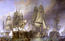 Detailed and chronological list of the sea battles during the French Revolution, the Consulate and the Empire