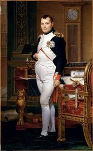 Emperor Napoleon I in his Study at the Tuileries, by J.L. David