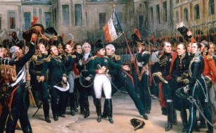The Farewell to the Old Guard, by H. Vernet