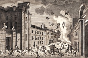 Assassination Attempt in the rue Saint-Nicaise