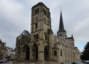 Auxonne : l'église Notre-Dame