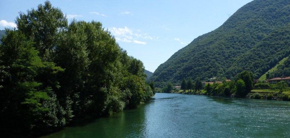 La vallée de la Brenta