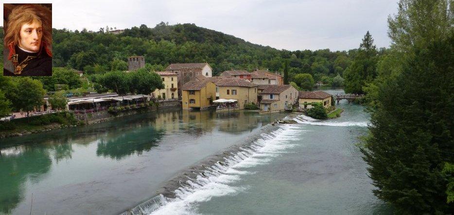 La rivière Mincio à Borghetto
