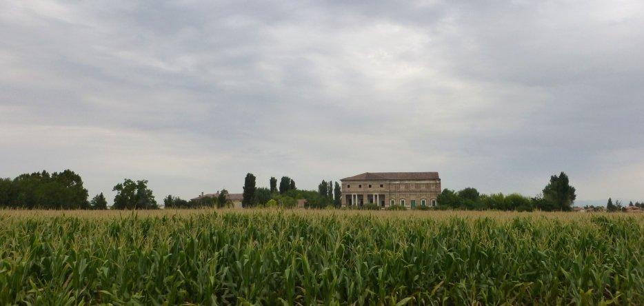 La Favorita : le champ de bataille et la villa