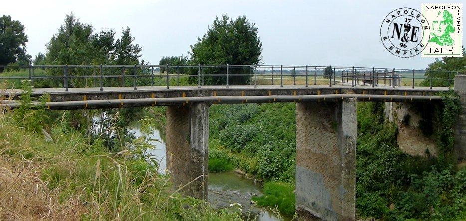 Le célèbre pont d'Arcole