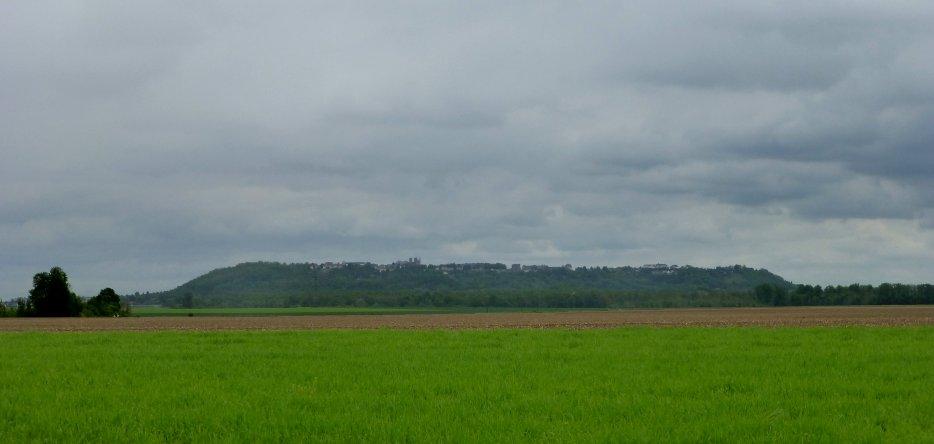 Le plateau de Laon, vue générale
