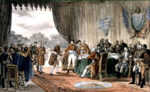 The Treaty of Mortefontaine, by V. Adam