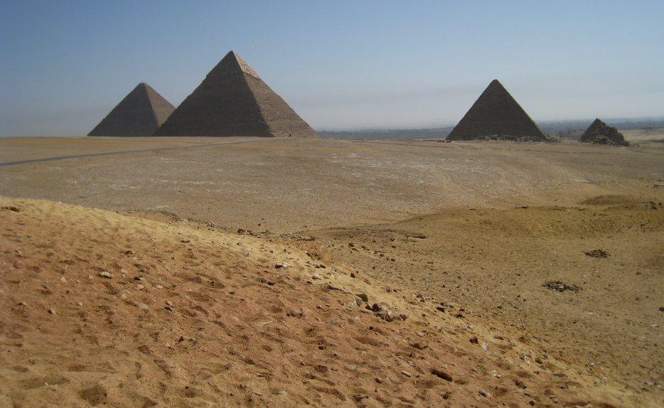 Gizeh : les pyramides» title=