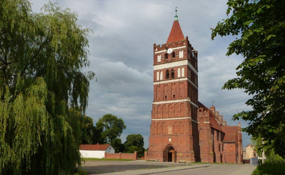 Friedland [Pravdinsk] : l'église Saint-Georges