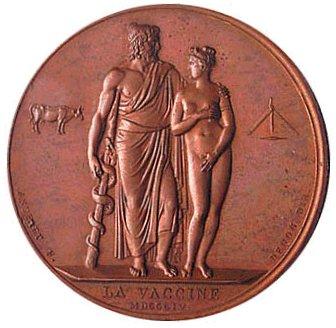Napoléon Ier - La Vaccine, de Bertrand Andrieu, 1804