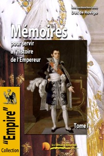 Le tome I des Mémoires du duc de Rovigo